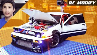 Download RC Modify 20 | 1986 TOYOTA TRUENO AE86 COUPE [English] Video