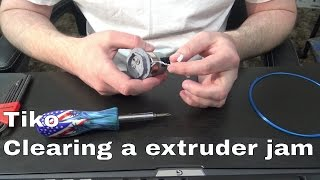 Download Tiko - Clearing a extruder jam Video