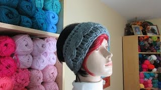 Download Crochet cable headband. With Ruby Stedman Video