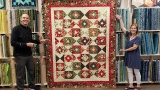 Download Time for Holiday Spirit? ″Color Crystals″ Quilt Tutorial! Video