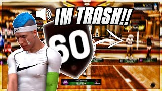Download I BROUGHT 3 60 OVERALLS TO THE MOST TOXIC PLACE IN NBA 2K19 THEN THIS HAPPEND.... 60 overall Video