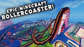 Download Minecraft Maps - EPIC ROLLERCOASTER! (When Pigs Fly Rollercoaster) Video
