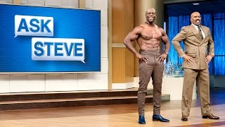Download Ask Steve: My husband is out of shape || STEVE HARVEY Video