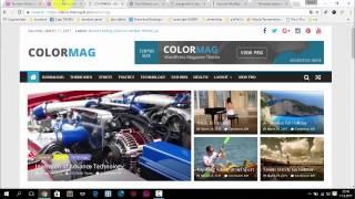 Download Wordpress Adım Adım Site Kurulumu | ColorMag Tema Video