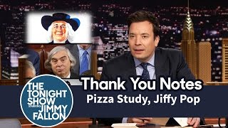 Download Thank You Notes: Pizza Study, Jiffy Pop Video