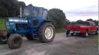 Download dodge ram cummins vs ford 8600 tractor tug of war Video