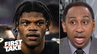 Download Stephen A. reacts to suspended broadcaster's Lamar Jackson comments: 'It was stupid!' | First Take Video