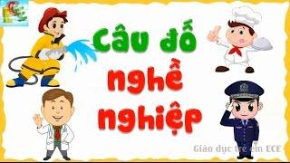 Download Câu đố hay cho bé nghề nghiệp tiếng Việt giáo dục sớm cho trẻ | dạy bé học nghề phát triển tư duy Video