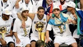 Download Spurs Claim 5th NBA Championship Video