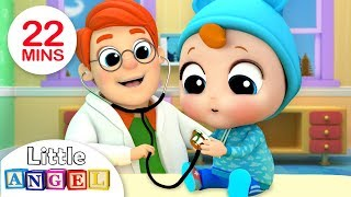 Download Baby's Visit To The Doctor | Nursery Rhymes by Little Angel Video