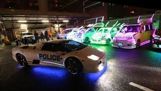 Download The Japan Underground Lamborghini Halloween Run Video