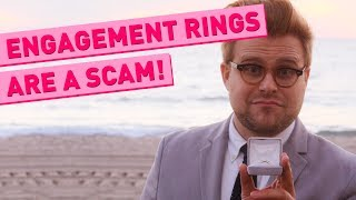 Download Why Engagement Rings Are a Scam - Adam Ruins Everything Video