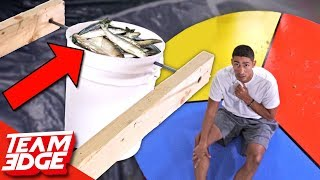 Download GIANT Wheel Of Misfortune | Seafood Edition! Video