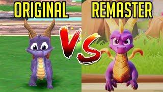 Download Spyro Reignited Trilogy - Gameplay Comparison (Remake vs Original) Video