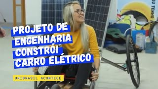Download Projeto de Engenharia constrói carro elétrico Video