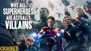 Download Why All Superheroes Are Actually Villains - Obsessive Pop Culture Disorder Video