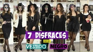 Download 7 DISFRACES CON UN VESTIDO NEGRO | What The Chic Video