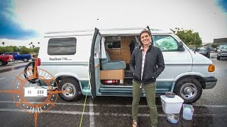 Download Travel Nurse Living In A Van ~ Full Tour & Quick Interview Video