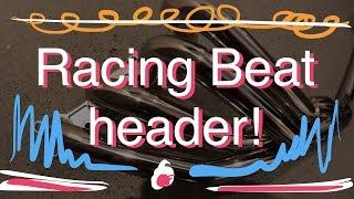 Download Racing Beat header and Fidanza flywheel! Video
