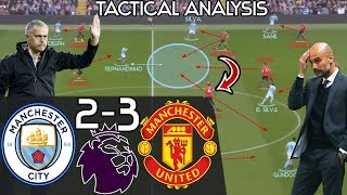 Download Mourinho's 2nd Half Comeback Win vs Pep EXPLAINED: Manchester City 2-3 Man United - Tactics Analysis Video