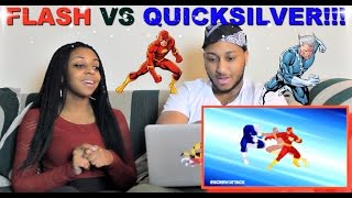 Download ScrewAttack! ″Flash VS Quicksilver | DEATH BATTLE!″ Reaction!!! Video