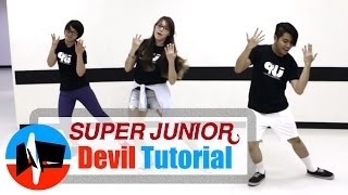 Download [Underground Pulse] Super Junior (슈퍼주니어) - DEVIL MIRRORED Dance Tutorial Video