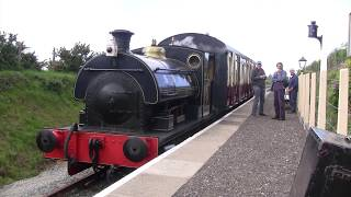 Download Visit to the Helston Railway Cornwall with SDJR 'Kilmersdon' - 5th May 2019 Video