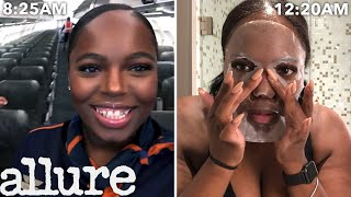 Download A Flight Attendant's Entire Routine, From Waking Up to Layovers | Work It | Allure Video