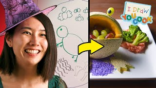 Download Can These Chefs Turn This Witch Drawing Into A Real Dish? • Tasty Video
