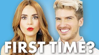 Download Joey Graceffa and Rosanna Pansino Discuss Their First Times Video