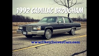 Download 1992 Cadillac Brougham - ″Chris Drives Cars″ Video Test Drive Video