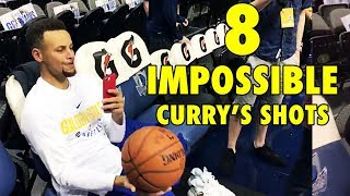 Download Can YOU do these 8 IMPOSSIBLE Stephen Curry's shots? Video