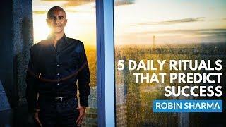 Download 5 Rituals To Predict Success   Robin Sharma Video