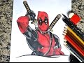Download Speed Drawing Deadpool - Desenhando o Deadpool Video