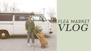 Download Sunday Vlog at the Flea Market | Alli Cherry Video