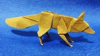 Download 【折り紙】 キツネ 【折り方】 origami fox tutorial Video