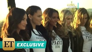 Download EXCLUSIVE: Victoria's Secret Angels Take ET's Kevin Frazier Along on Trip to the Eiffel Tower Video