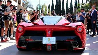 Download LAFERRARI SHUTS DOWN CAR MEET! Drifting & Loud Accelerations Video