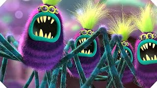 Download TROLLS - Branch VS Spiders ! - Movie Clip (2016) Video