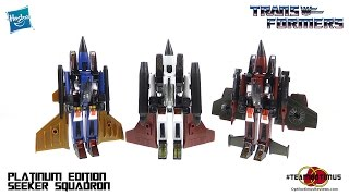 Download Transformers Platinum Edition Seeker Squadron Video Review Video