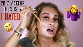 Download 2017 MAKEUP TRENDS I HATED Video