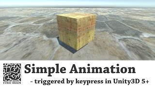 Download Unity3D - Trigger animations (keypress trigger) Video
