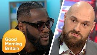 Download Deontay Wilder Vs Tyson Fury Showdown | Good Morning Britain Video