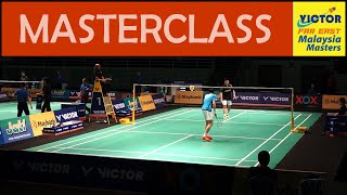 Download LEE Chong Wei Giving Young Player a Masterclass in Badminton | Malaysia Masters 2016 Video