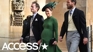 Download Pregnant Pippa Middleton Wows At Princess Eugenie's Wedding | Access Video