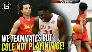 Download Cole Anthony NOT PLAYIN NICE! Oak Hill PUT ON DUNK-FEST when TEAM DOESN'T SHOW UP!!! Video