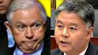 Download Jeff Sessions gets CAUGHT LYING by ted lieu & jeffries on Trump Russia Meetings Video