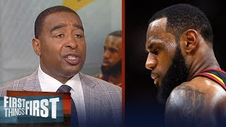 Download Cris Carter reveals why LeBron James is now going to LA Lakers | NBA | FIRST THINGS FIRST Video