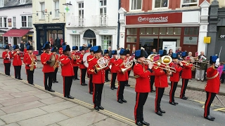 Download The Band of the Corps of Royal Engineers Brecon Freedom Parade April 2017 Video