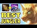 Download NEW NASUS IS AN ABSOLUTE MONSTER!! 1300+ STACKS 1v9 JUNGLE | BEST JUNGLER IN THE GAME Video
